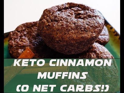 Keto Cinnamon Flaxseed Muffins Fast Amazing Breakfast (0 Net Carbs!)