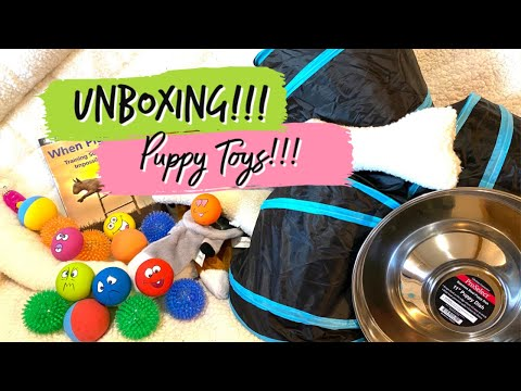 amazon-unboxing---puppy-toys-to-use-with-puppy-culture---and-more!!!