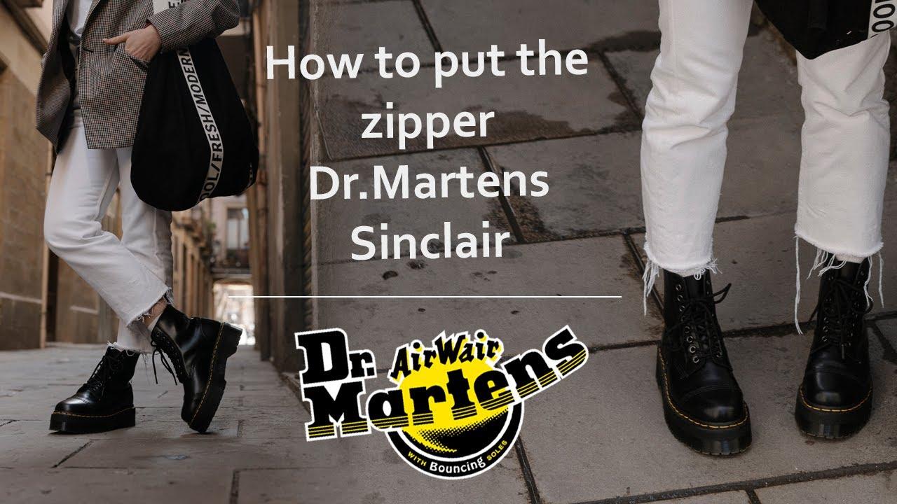 doc martens sinclair smooth