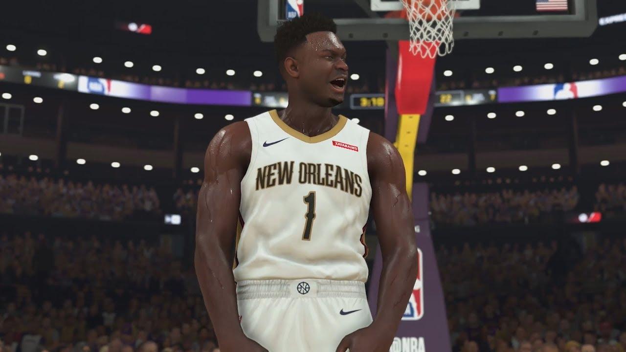 NBA 2K20 Zion Williamson Trailer Gameplay 1st Look!