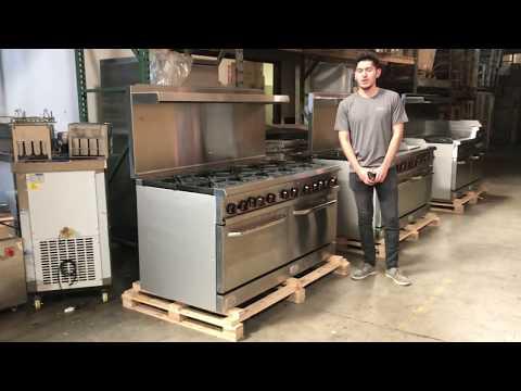 American  Range  Ranges Burner Commercial Oven Ovens Propane LP Natural Gas