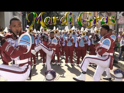 Talladega College Marching Band - 2018 Mardi Gras Parade