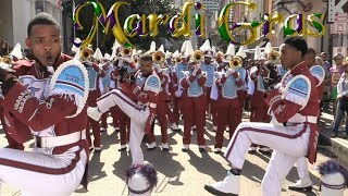 Talladega College Marching Band - 2018 Mardi Gras Parade