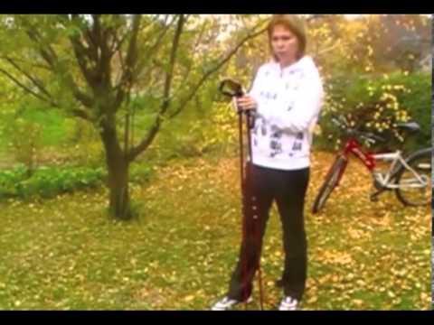 Скандинавская ходьба с палками - видео уроки