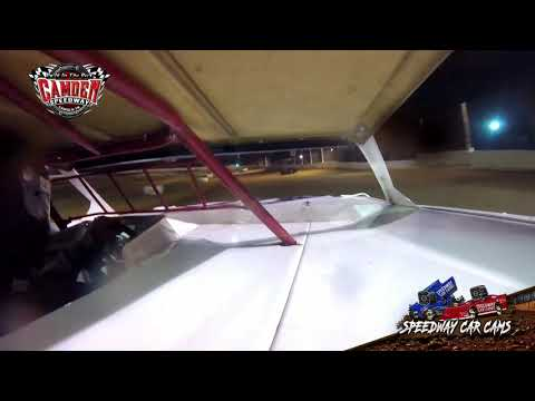 #61 Joel Russell - 602 Sportsman - 7-27-19 Camden Speedway - in-Car Camera