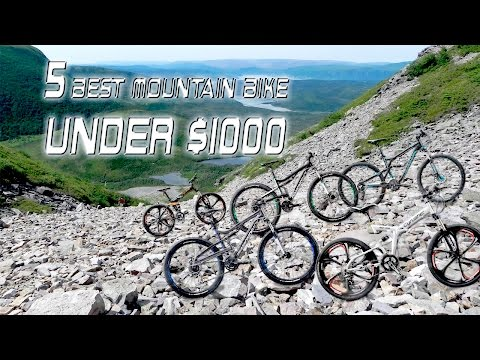 5 Best Mountain Bike under 1000 Dollars | Best Mountain Bike Brands 2017: Buying Guide
