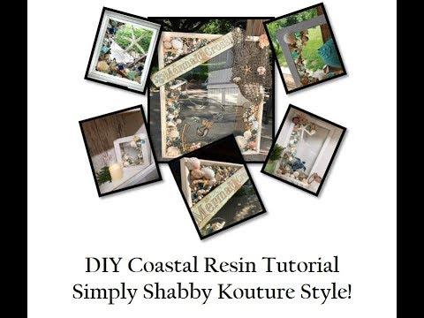 DIY Coastal Resin Tutorial