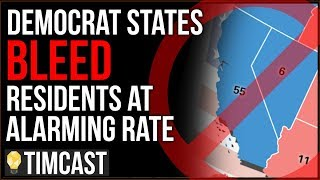 Democratic States And Cities Are COLLAPSING, Census Predicts Major Republican GAINS - Tim Pool