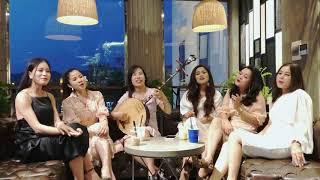 Sáu chị em gái nhà NS Tuyết Tuyết hát vui Quan Họ!
