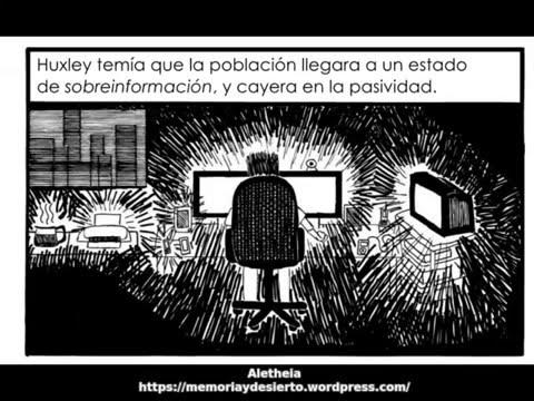 La manipulacion Orwell-Huxley