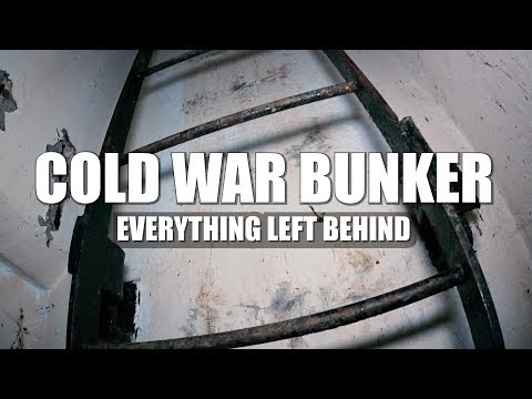 (EVERYTHING LEFT BEHIND) ABANDONED NUCLEAR BUNKER