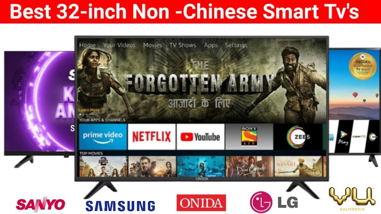 Best 32-inch Non-Chinese Smart tv in 2020- July|