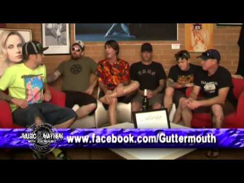 Music & Mayhem with Jon Russell,Jon talks with the band Gutter Mouth.