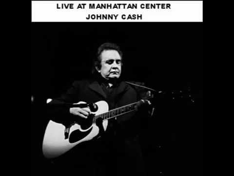 JOHNNY CASH LIVE AT MANHATTAN CENTER