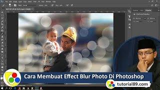 cara membuat effect blur photo dengan photoshop