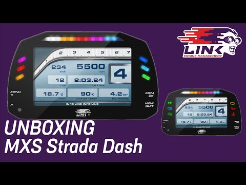 💥Unboxing💥 Link ECU MXS Strada Dash Unboxing Video