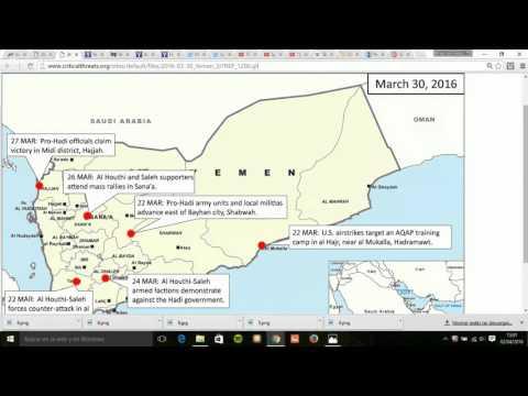Actualización de la Guerra de Yemen Geopoltica Radio Esperantia 2 de Abril 2016