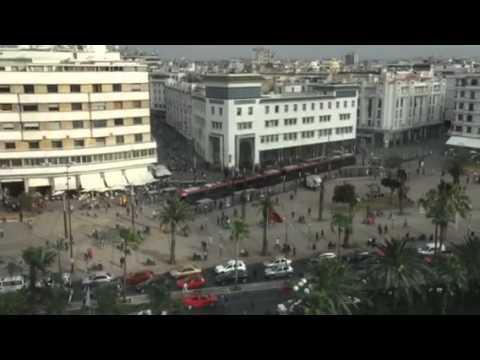 Downtown Casablanca from Hyatt Regency room.