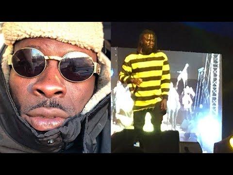 STONEBWOY's Amazing freestyle at S Concert 2018