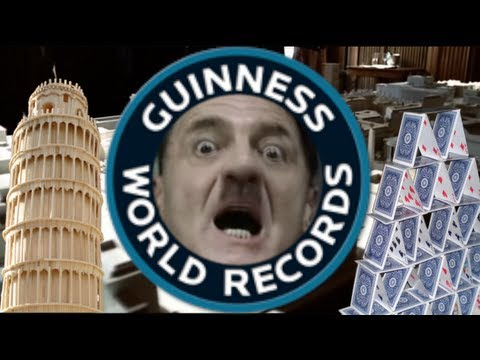Hitler tries to win a Guinness World Record