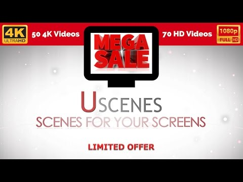 Uscenes Relaxation s MEGA DEAL - 4K Aquarium Nature and Fireplace s