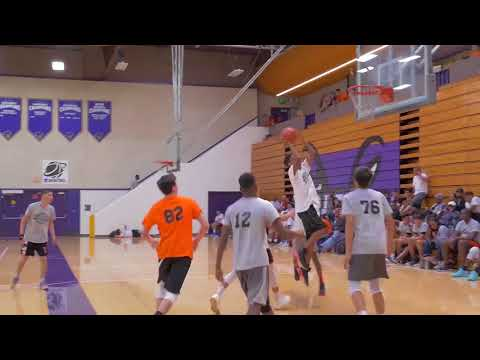 Jah Kez Moore #80 - 6'3 G Class of 2018 Los Angeles Recruiting Event