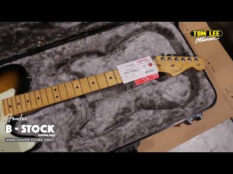 Fender B-Stock Guitar Sale - Tom Lee Music Vancouver Store Only