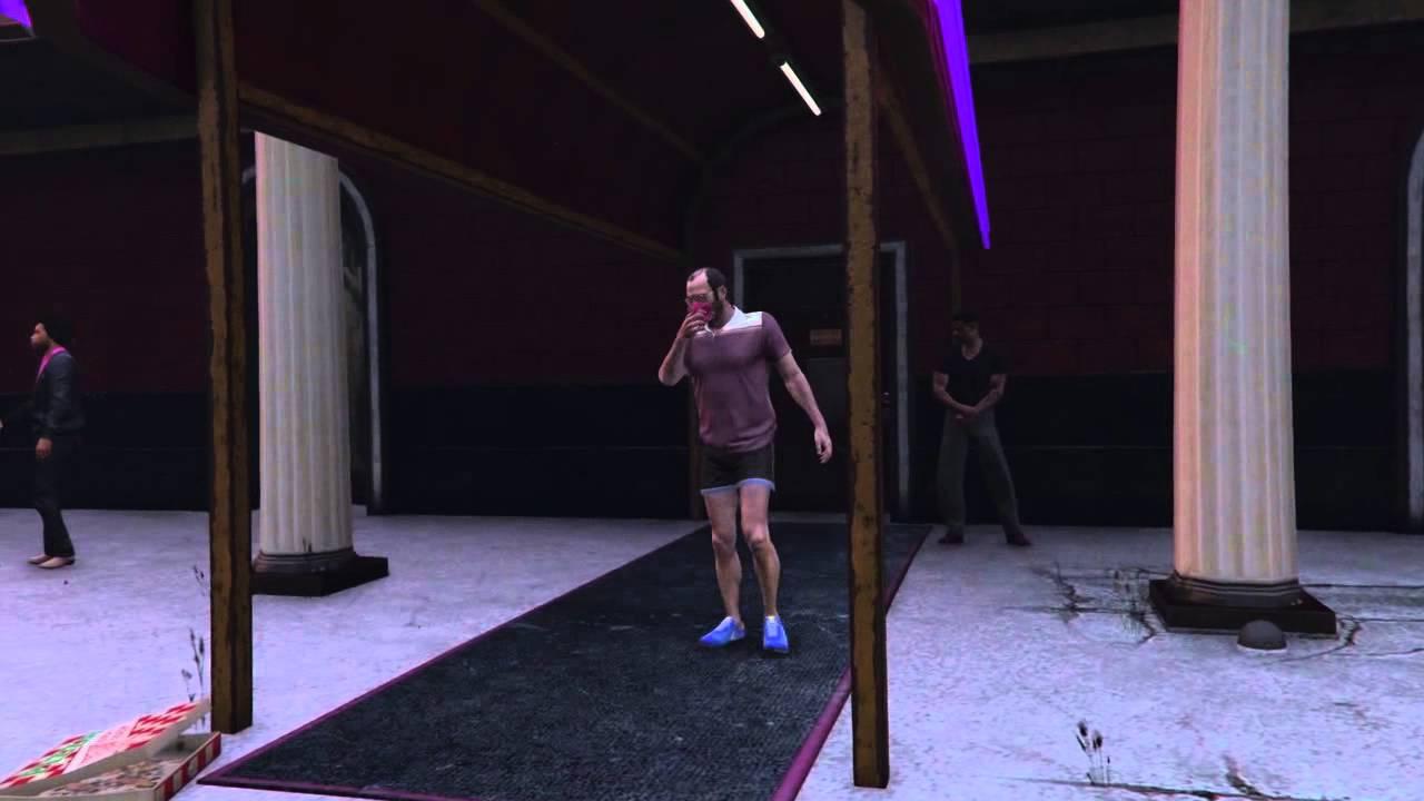 Panty sniffer tube