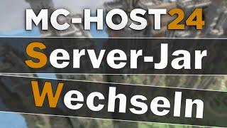 MC-Host24: Server-Jar ändern   Spigot, Bukkit etc. installieren   Tipps & Tricks