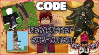 [CODES] NEW PUPPET SUB-JUTSU SHOWCASE/REVIEW!| PUPPET SUB-JUTSU COMING SOON!!| ROBLOX NRPG- Beyond