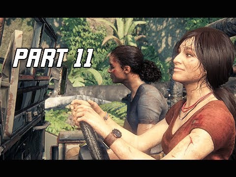 UNCHARTED THE LOST LEGACY Walkthrough Part 11 - New Wheels (PS4 Pro Let's Play Commentary)