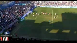 Cristiano Ronaldo Amazing Backheel Goal against Rayo Vallecano 2012 HD