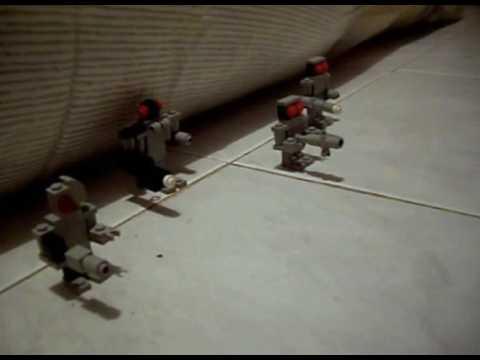 TERMINATORS VS HUMANS LEGO