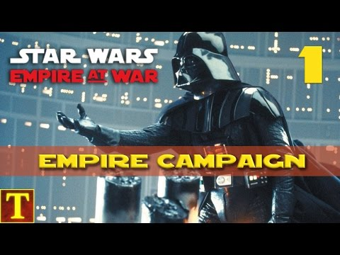 Star Wars Empire at War - Empire Campaign part 1 - Finding traitors