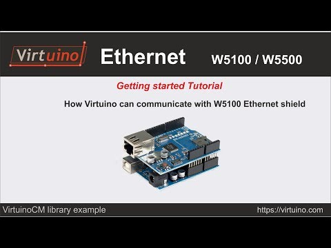 Virtuino - Ethernet Connection With Arduino UNO - Getting Started Tutorial
