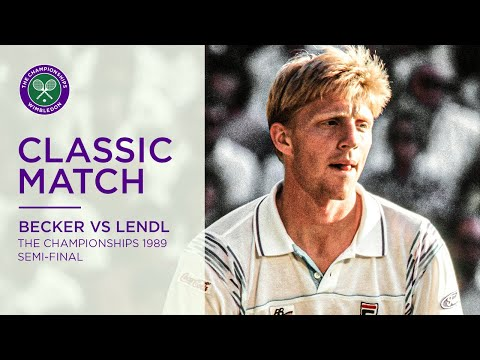 Boris Becker Vs Ivan Lendl Wimbledon 1989 SF
