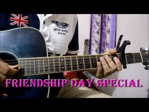 Yaaron Dosti (K.K) - Easy Guitar Tabs Lesson   Friendship Day Special