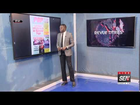 Revue des Titres  avec Mame Mbaye Ndiaye du mercredi 15 Avri