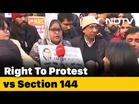 Versus | Anti-CAA Protests At Jama Masjid: Right To Protest vs Section 144