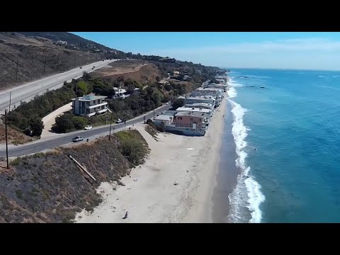 FPV over California Los angeles, Malibu, Van nuys, topanga