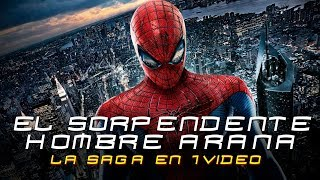 The Amazing Spider-Man: La Saga en 1 Video