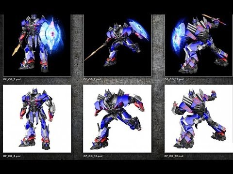 Transformers 4 update #6 : First look at Grimlock and ...