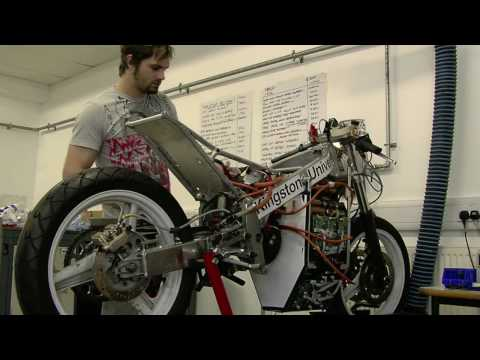 Kingston University Electric Motorcycle Diary no.30 Isle of Man TTXGP
