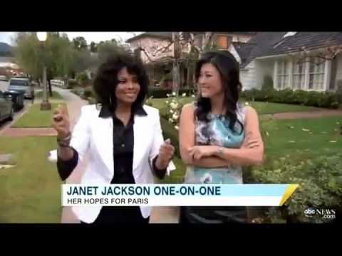 Janet Jackson speaks about her niece Paris Jackson
