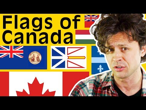 All About Canada's Provincial Flags