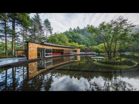 Picchio Visitors Center & Ice Rink / Klein Dytham architecture (4K)