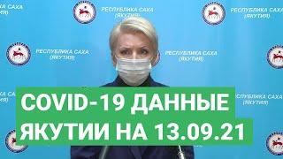 Сovid-19. Данные в Якутии на 13.09.21