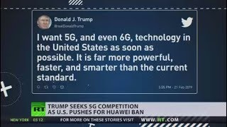'We must be the leader in everything': Trump praises non-existent 6G technology