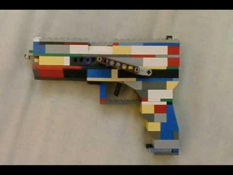 Lego Glock 18c Youtube