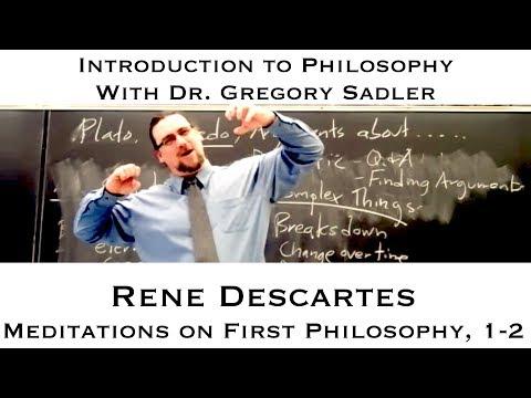 descartes meditations on first philosophy essay